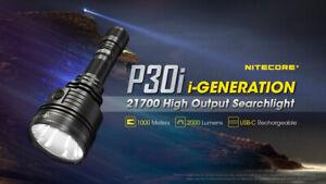 NITECORE P30i 2000 Lumen i-Generation 21700 High Output Searchlight Torches