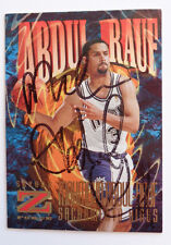 Abdul Rauf Sky Box #131 Kings Signed Reprint Basketball Card 1997
