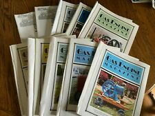 12 Vintage Gas Engine Hit And Miss Magazines Complete Year 2000 With Sleeves