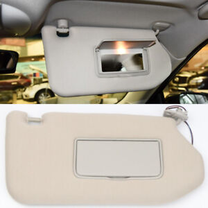 For Nissan Pathfinder R52 2013-2018 Right Driver Side Sunshade Visor With Lamp