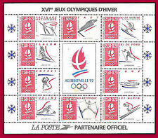 FRANCE TIMBRE STAMP SHEET FRANCE 1992 BLOC N°14** NEUF LUXE JEUX OLYMPIQUES  MHN