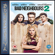 BAD NEIGHBOURS 2 -    Zac Efron *BRAND NEW DVD**