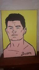 Wwe cody rhodes canvas njpw roh dream hand painted 30x40cm