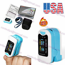 US FDA Finger Pulse Oximeter OLED SpO2 Blood Oxygen Heart Rate Oxymeter CMS50N