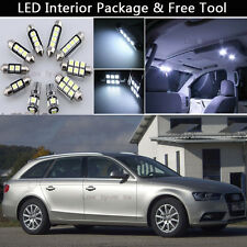 15PCS Canbus LED Interior Lights Package kit Fit 2009-2013 Audi A4 B8 Avant J1