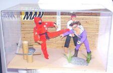 "Hasbro Action Man 12"" KARATE COMBAT KUNG FU WARRIOR + DOCTOR X SHOP DISPLAY `96!"