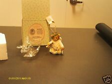 Cherished Teddies ` Let Us All Rejoice bell Bear with trumpet dated 2009