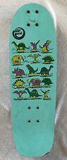 Vintage Variflex Skateboard SKOOT SKATE Dinosaurs Graphics Old School 80s 90s