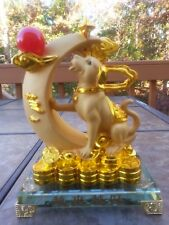Chinese Lucky Money Wealth Dogs Statue
