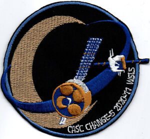 Chang'e 5 Chinese Lunar Exploration Program Orbiter Space Embroidered Patch