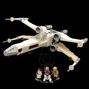 Display Stand Acrylglas Standfuss für LEGO 75301 Luke Skywalker's X-Wing Fighter