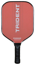 Engage Trident Polymer Pickleball Paddle GripTEK Texas Open Paddle Red