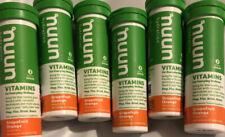Nuun Hydration Vitamins Electrolytes Grapefruit Orange - 6 Tubes (72 Tablets)