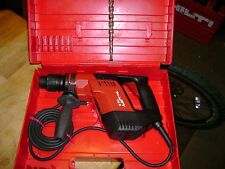 Hilti rotaryhammer drill model TE5 with bit look