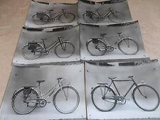 lot de 14 photos originales vélo archives d'usines d'époque ( ref 3 )