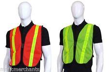 Reflective Running Bib Vest Mesh Visibility Cycling Safety Top Training Hi Viz