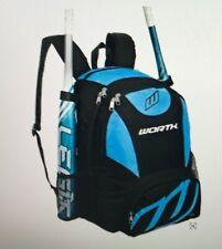 New Worth Bkpk2 Baseball/Softball Equipment and Bat Backpack, Columbia Blue