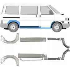 Volkswagen Transporter T4 1990- Kürz Mittel 10x Reparaturblech Schweller / Satz