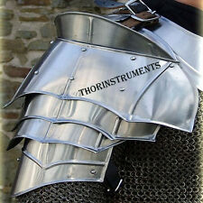 MEDIEVAL GOTHIC FANTASY Metal Shoulder Guard WARRIOR ARMOR PAULDRON