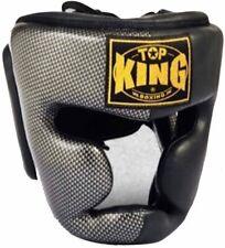 "Top King ""Empower Creativity"" Head Guards - Tkhgem-02-Black/Silver"