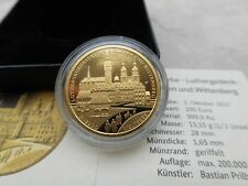 100 Euro Goldmünze 2017 J Luthergedenkstätten Deutschland Unesco Eisleben
