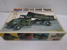 OLD MONOGRAM MACK BULL DOG DUMP TRUCK TRAILOR MODEL KIT SEMI TRUCK TRACTOR TOY