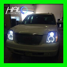 2007-2014 GMC Yukon ORACLE LIGHTING WHITE PLASMA Headlight Halo Ring Kit 4 RINGS