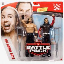 WWE Mattel Matt and Jeff Hardy Boyz Battle Packs 65 Basic Figures