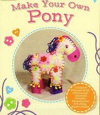 Giocattolo Morbido Craft Kit prepara il tuo pony per età 6 PLUS, NUOVO DI ZECCA