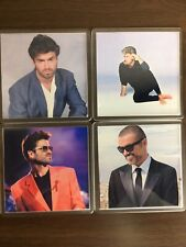 More details for george michael 4 piece coaster gift set