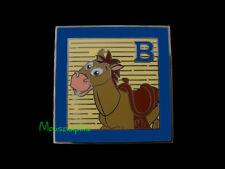 TOY STORY Woody's HORSE BULLSEYE on Toy Block Disney 2014 PIN