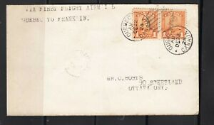 1928 FFC QUEBEC - FRANKLIN  AAMC 2863 a 12-22-1928  Franquelin P O