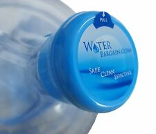25 PREMIUM NON SPILL WATER COOLER BOTTLE CAPS- WORKS FOR BOTH 3 AND 5 GALLON JUG