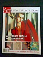 Art & Antiques Magazine 2007 Deco Tama de Lempicka Richard MacDonald Rappleye