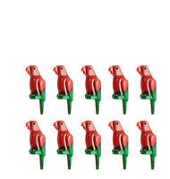 LEGO 10pcs NEW PARROT Pet Bird Animal Marbled Green Red Pirate Minifigure Figure