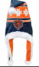 Chicago Bears NFL Snowflake Dangle Hat