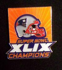 NE New England Patriots 2015 SB Super Bowl 49 XLIX Champions pin