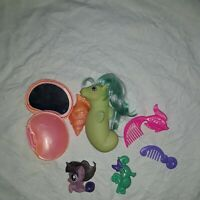 My Little Pony Baby Sea Shimmer 1984 & Other Accessories