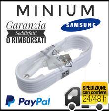 CAVO ORIGINALE SAMSUNG ECB-DU4EWE MICRO DATI USB BIANCO 1,5 MT S3 S4 S5 S6 NOTE
