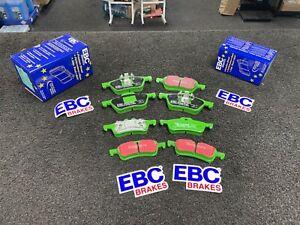 EBC GreenStuff Front Brake Pads Mini Hatch 1st Gen R53 1.6 SC Cooper S F+ R