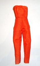 "Barbie Fashion Burnt Orange Strapless ""Jumpsuit"" Repro For Barbie Dolls rp4"