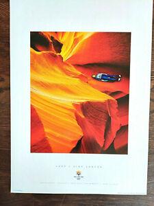 Salt Lake City 2002 Olympics LUGE / SLOT CANYON Sports Series Poster #4