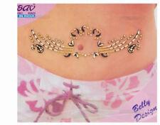 Bindi bijou de peau strass tatoo pour nombril Inde mariage oriental B512