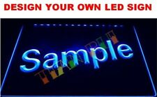 CUSTOM  *YOUR DESIGN*  Neon LED Display Light Sign **QUALITY** Bar Pub Man Cave