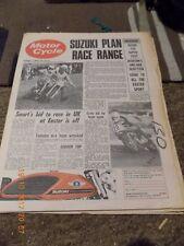 Motor Cycle/29,3,1972/Suzuki GT 750 Test/TX 750/CS 5E 200