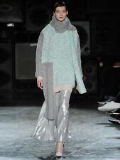Designer Jonathan Saunders lana oversize Colore Blocco Donne Maglione Taglia M UK 12