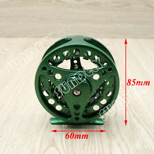 Green 85mm 5/6 Aluminum Fly Fishing Reel Trout Fishing Left or Right Handed
