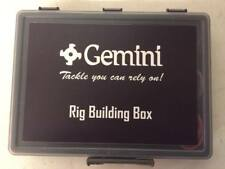 Gemini Genie Rig Building Tackle Box - Fully Loaded Plus Asso 50lb rig body