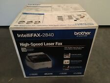 Brand New Brother Intelli-fax 2840 Laser Printer Fax Copier $199 Replace 2820