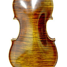 Professional Level Hand-made Maple Wood One Piece Back Violin Antique Style